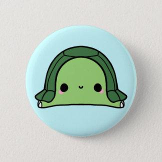 Kawaii Schildkröte (Sie ändern den Hintergrund!) Runder Button 5,1 Cm