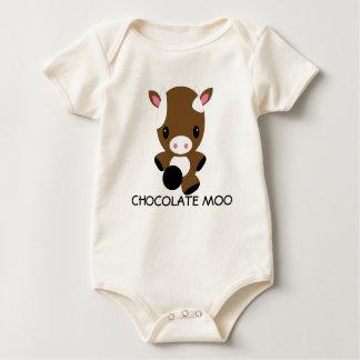 Kawaii Schokoladen-Kuh-T - Shirt