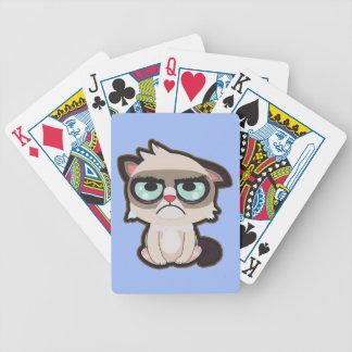 Kawaii, Spaß und Spielkarten der lustigen grimmy