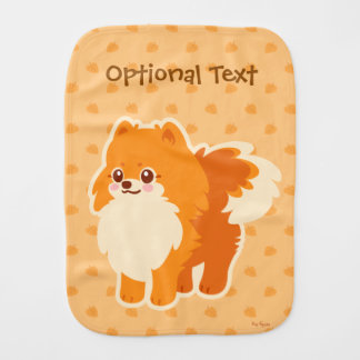 Kawaii Spitz-Cartoon-Hund Baby Spucktuch