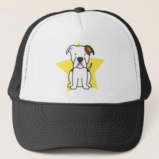 Kawaii Stern-amerikanischer Bulldoggen-Hut Truckerkappe