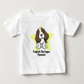 Kawaii Stern-englischer SpringerSpaniel Baby T-shirt