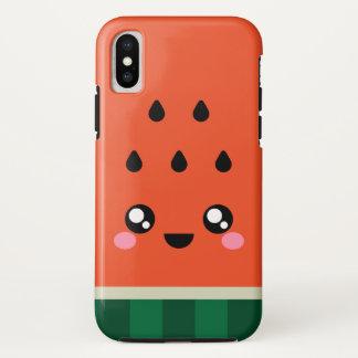 Kawaii super niedlicher Wassermelone iPhone X Fall iPhone X Hülle
