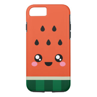 Kawaii super niedliches Wassermelone iPhone 7 u. iPhone 8/7 Hülle