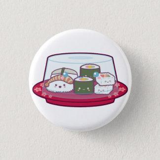 Kawaii Sushi-Platte Runder Button 2,5 Cm