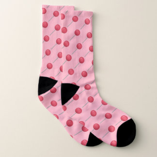 Kawaii süßer Süßigkeitsliebhaber-Rosa Lutscher Socken