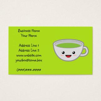Kawaii Tee-Geschäft Visitenkarte