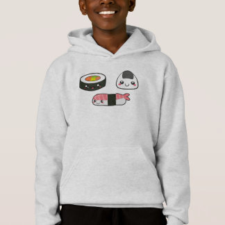 Kawaii und cooles Sushi-Shirt Hoodie