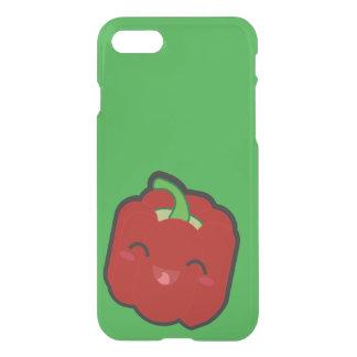 Kawaii und lustiger roter Pfeffer iPhone 7 Hülle
