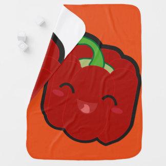 Kawaii und lustiger roter Pfeffer Puckdecke