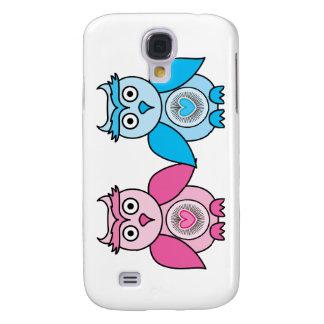 Kawaii Valentinsgruß-Eulen Galaxy S4 Hülle
