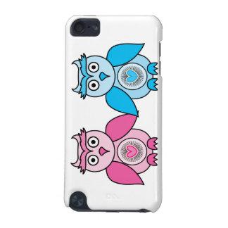 Kawaii Valentinsgruß-Eulen iPod Touch 5G Hülle