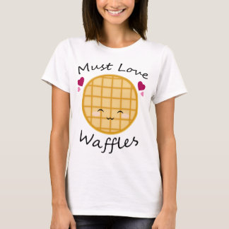 Kawaii Waffel T-Shirt