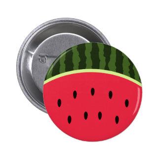 Kawaii Wassermelone-runder Knopf Runder Button 5,7 Cm