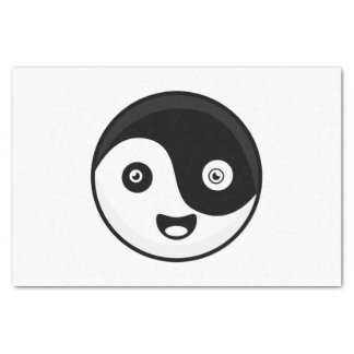 Kawaii Yin Yang Seidenpapier