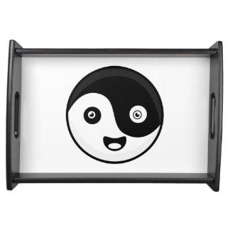 Kawaii Yin Yang Tablett