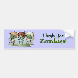Kawaii Zombies Autoaufkleber