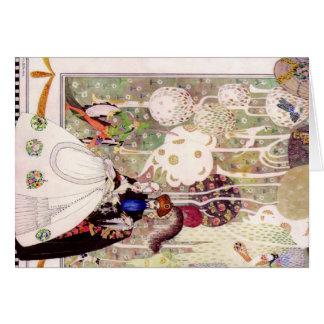 Kay Nielsens Bluebeard-Märchen Karte