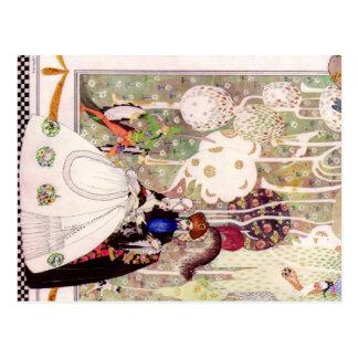 Kay Nielsens Bluebeard-Märchen Postkarte