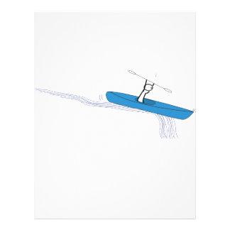 Kayaker-Geburtstag Flyer