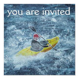 Kayaking Einladung