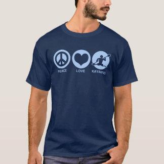 Kayaking FriedensLiebe T-Shirt