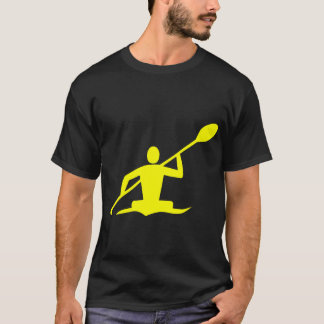 Kayaking - Gelb T-Shirt