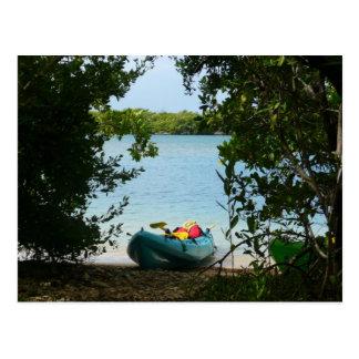 Kayaking in den Jungferninseln St Thomas US Postkarte