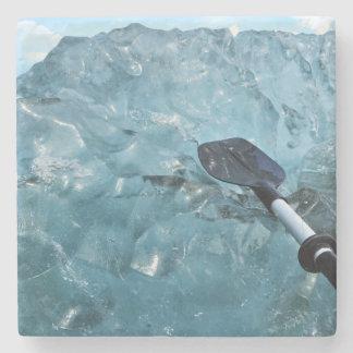 Kayaking mit Eisberg-Untersetzer Steinuntersetzer
