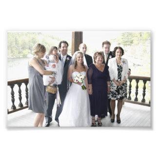 KAYE-HOLDEN HOCHZEIT: LAURIE U. DIE KAYE FAMILIE FOTODRUCK
