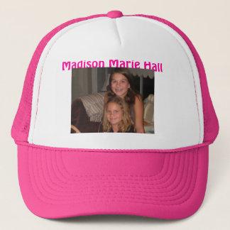 Kaylee n ihre Schwester, Madison Marie Hall Truckerkappe