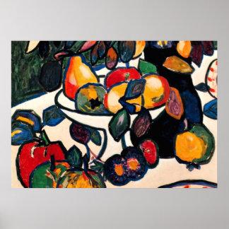 Kazimir Malevich - Stillleben, Grafik 1911 Plakatdrucke