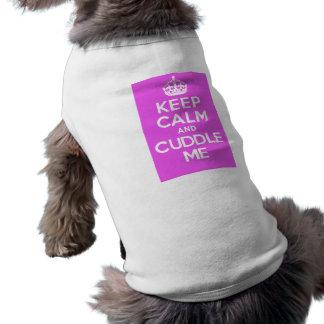 KC&CMPink Ärmelfreies Hunde-Shirt
