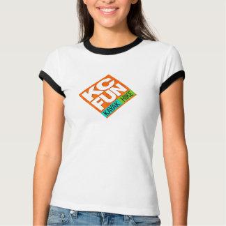 Kc-SPASS Kajak-/der Wecker-T - Shirt der