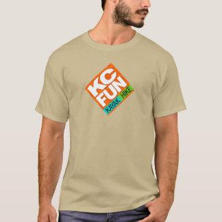 Kc-SPASS T - Shirt - großes gekipptes Logo