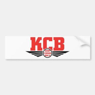 KCB - Behalten Sie zurückkommende Erholungs-Waren Autoaufkleber