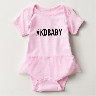 KD Baby-Rosa-Ballettröckchen Baby Strampler