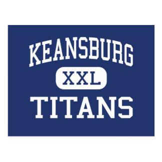 Keansburg - Titanen - hoch - Keansburg New-Jersey Postkarte