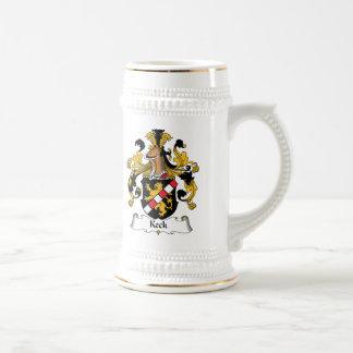 Keck Familienwappen Kaffeehaferl