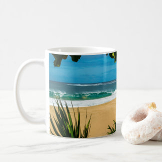 Ke'e Strand-Kauai-Tasse Kaffeetasse