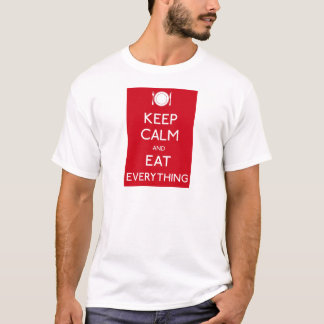 Keep Calm and Eat T-Shirt