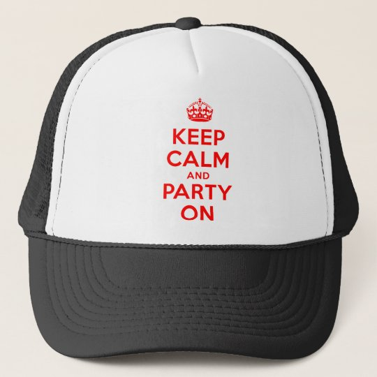 KEEP-CALM-AND-PARTY-ON.TIF TRUCKERKAPPE