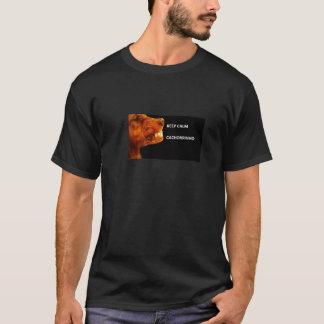 KEEP CALM FASSUNG DOG/CACHORRO T-Shirt
