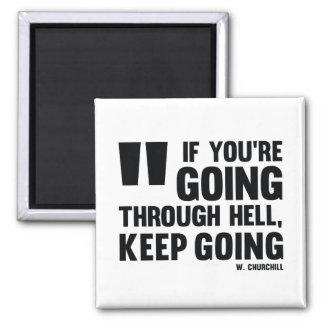 Keep Gehen! - Inspirierend Magnet
