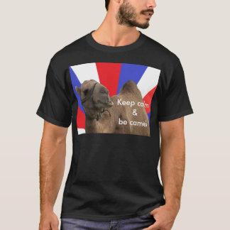 keep sieht calm & camel T-Shirt