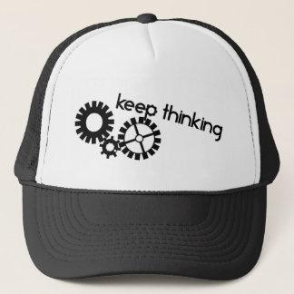 Keep Thinking Truckerkappe