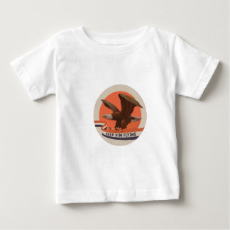 keephimflying.png baby t-shirt