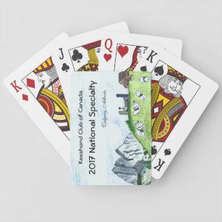 Keeshond-Spielkarten Spielkarten