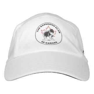 Keeshond-Verein von Kanada-Hut Headsweats Kappe