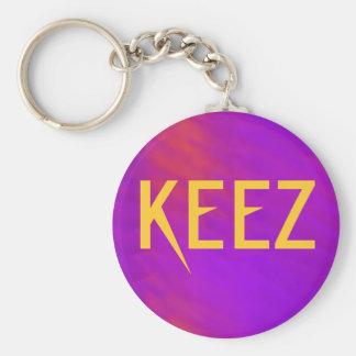 KEEZ Keychain Standard Runder Schlüsselanhänger